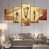 YDHP Imágenes Decoración del hogar Arte de la Pared Lienzo Cultura egipcia Cartel Decoración Pintura HD Impreso Foto-40x60 40x80 40x100cm sin Marco