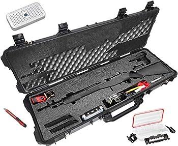 Case Club Springfield M1A SOCOM 16 M1A Scout Squad Ruger 10/22 & Mini-14 Pre-Cut Waterproof Rifle Case with Silica Gel  Gen 2
