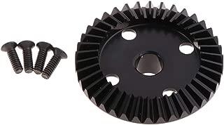 FLAMEER 32DP 3.175mm Engranaje de Motor para 1:10 RC Coche Modelo 9T-15T para Selecci/ón Negro 10T