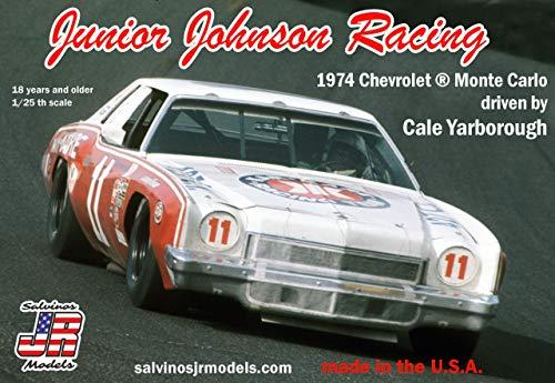 Salvinos Jr Models SJR1974B Nascar. Plastic Model kit