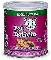 Pet Delícia Maravilha de Frango Grain-Free Natural 320g Pet Delícia Raça Adulto, Sabor Frango 320g