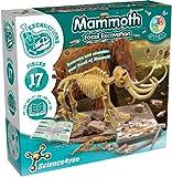 Science4you-Mamut, Kit Explorador Dinosaurios 6 Excava 17 Fosiles con Este Juego Arqueologia, Set de Paleontologo, Ciencia y Juguetes para Niños 6-8 Años (80002267)