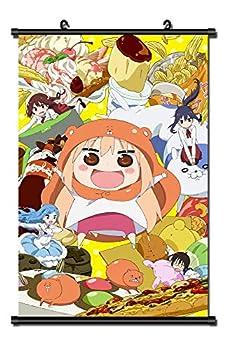 Mxdza Japanese Anime Himouto Umaru chan DOMA Fabric Painting Anime Home Decor Wall Scroll Posters for Decorative 40x60CM