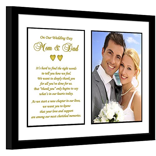 Parent Thank You Wedding Gift – Sweet Poem From Bride and Groom to...