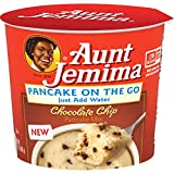 Aunt Jemima Chocolate Chip Pancake Cup, 12 Count