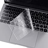 i-buy Copritastiera Trasparente Sottile per Macbook Air 13 con Retina Display(A1932)[Materiale TPU][Tastiera europea]