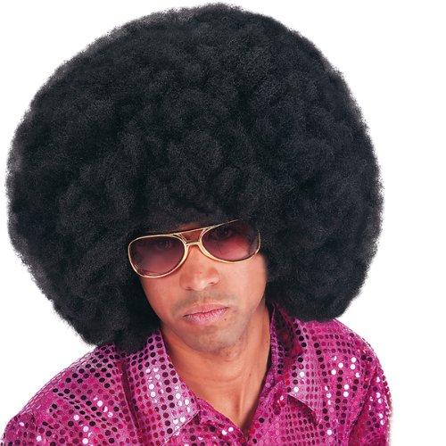 CARNIVAL TOYS 2971 Perruque Afro 40 cm Noir