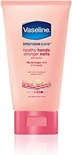 Vaseline Intensive Care Hand Lotion, Healthy Hands Stronger Nails – 60ML