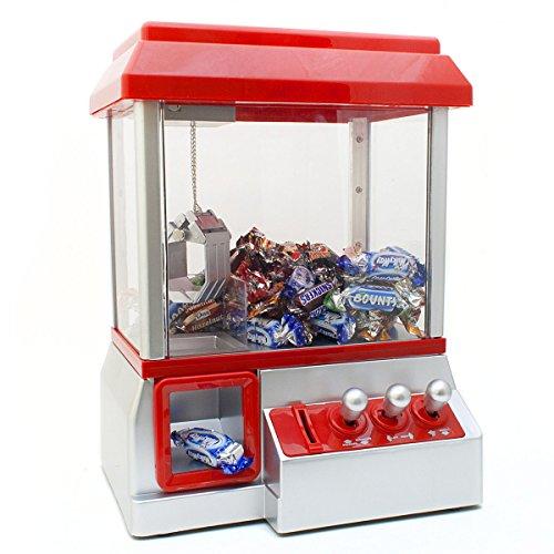 Máquina de caramelos máquina de caramelos pinza de caramelos pinza de pinzas máquina tragaperras roja
