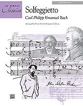 Solfeggietto: Sheet (Simply Classics Solos) (1994-09-01)