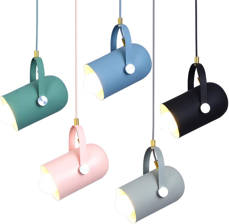 Nordic Macaron Aluminium Kronleuchter Kreative Persnlichkeit Mode Bar Bekleidungsgeschft Korridor Studie Lampe,Grün,120  235mm