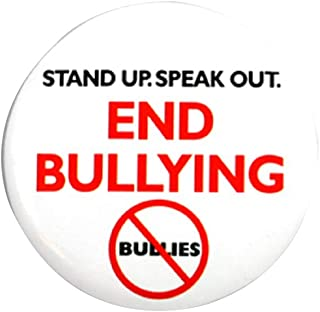 End Bullying Round Button Pin
