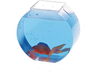 U.S. Toy C7 Lot of 12 Carnival Game Small Plastic Fish Bowls (Pack of 12)