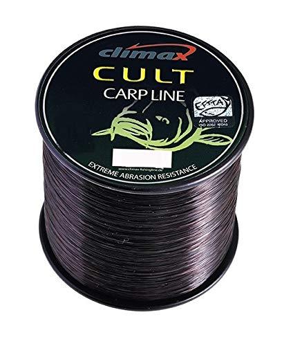 Climax Cult Carp Line Black 0,28mm 1500m 8451-15000-028 Karpfenschnur Monoschnur Monofile Angelschnur Schnur