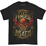Five Finger Death Punch Men's 100 Proof T-Shirt X-Large Black