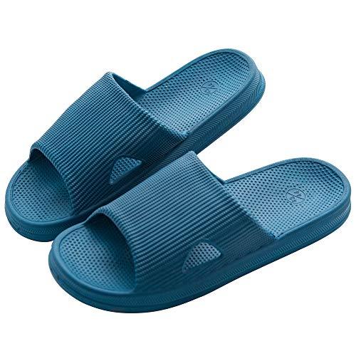 KOCOTA KOCOTA 抗菌防臭素材 スリッパ サンダル 超軽量 滑り止め 男女兼用 ブルー L