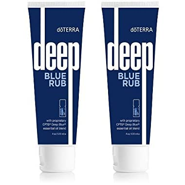 doTERRA Deep Blue Rub, 4 oz PACK OF 2