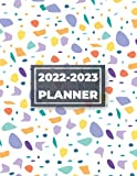 2022-2023 Monthly Planner: Terrazzo Flooring Cover 2 Year Monthly Planner with Inspirational Quotes on Each Page, Calendar Schedule Organizer January to December 2023 With Federal Holidays.