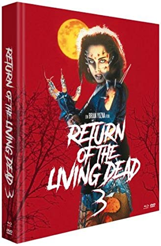 Return of the Living Dead 3 Mediabook uncut LIMITED 2000 EDITION / 3 Disc [Blu-ray+DVD]
