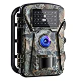 APEMAN Trail Camera 16MP 1080P No-Glow Infrared Night Vision Hunting Camera for Wildlife Monitoring,...