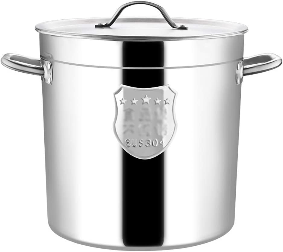 WQF Stainless Steel Stock pan Albuquerque Mall with Lid Excellent High-C Stockpots