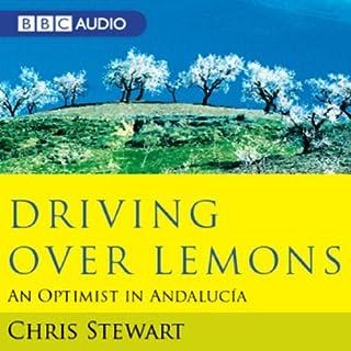 Driving Over Lemons audiobook cover art