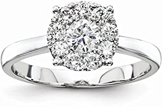 Best illusion setting diamond engagement ring Reviews