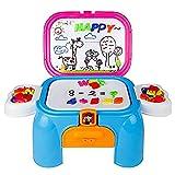 Pizarra magnética infantil, actividades creativas puzzle con números y letras juguete educativoscomo un taburete regalo para niños(grande)