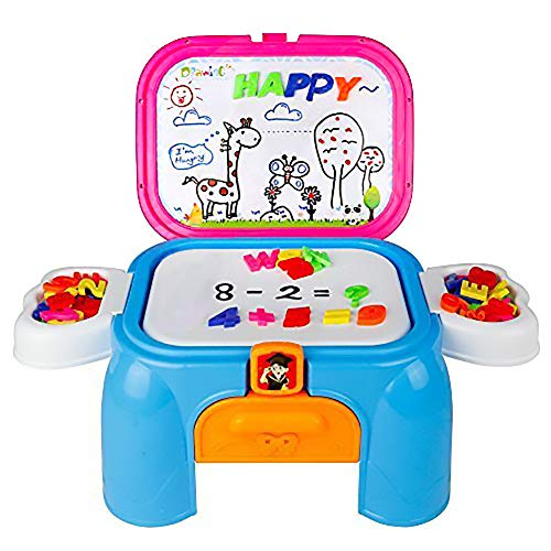 Pizarra Magnética Infantil, Actividades Creativas Puzzle co
