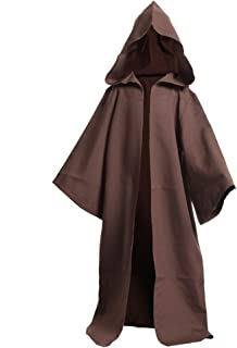 Medieval Knights Hooded Robe Cloak Halloween Fancy Cool Cosplay Costume
