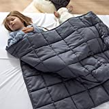 Bedsure Kids Weighted Blanket 5lb 36x48 inch ,100% Cotton ,Machine Washable