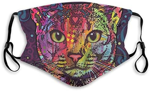ainidamiss Confident Cat Dust Washable Reusable Filter and Reusable Mouth Warm Windproof Face product image