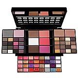 74 colores Todo en uno Caja de sombra de ojos Juego de regalo de maquillaje, Kit de maquillaje de paleta de sombra de ojos Incluye 36 colores de paleta de sombra de ojos mate y muchos más