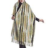 Bufanda de mantón Mujer Chales para, Bufanda de cachemir con...