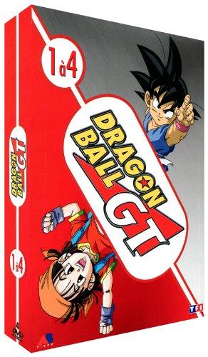Dragon Ball GT-Coffret 1-4 DVD-Épisodes 1 à 16