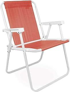 Mor 002286 - Cadeira Alta, Vermelho (Coral)
