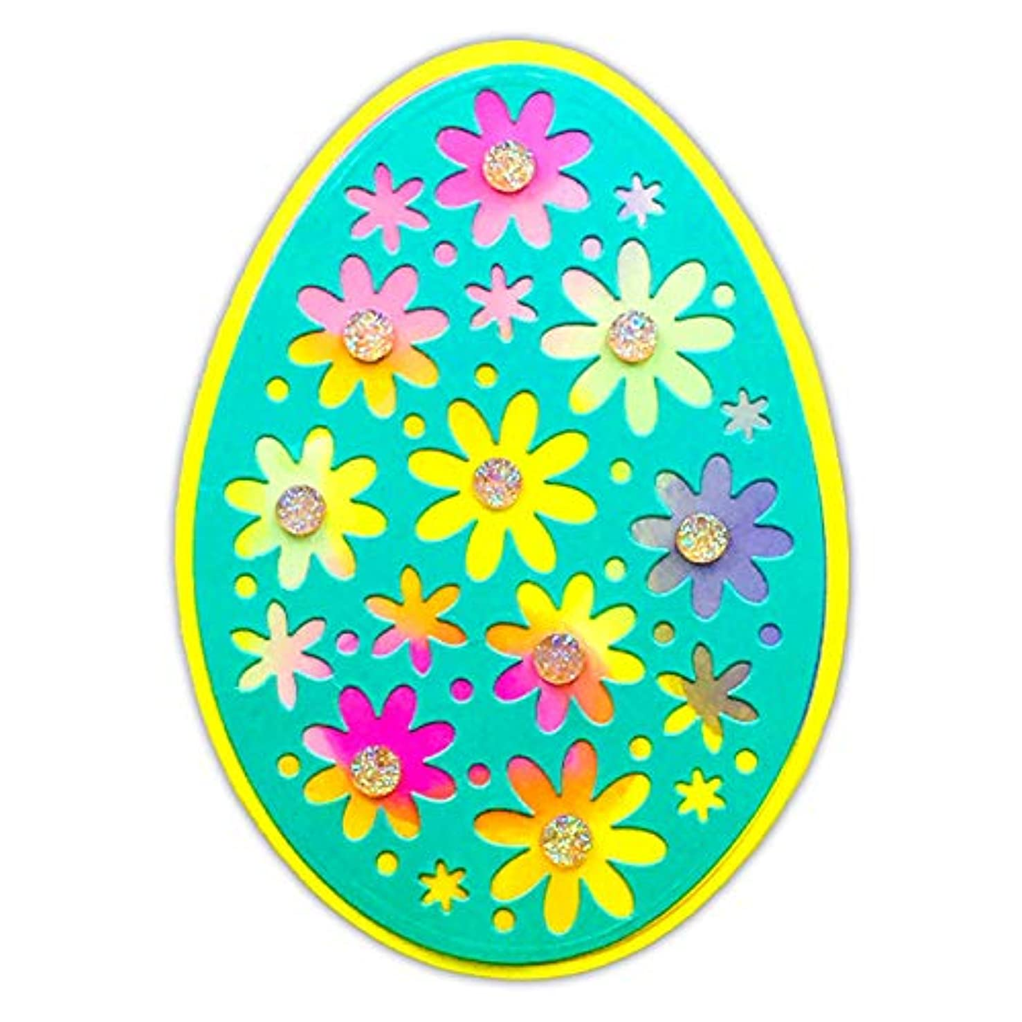 Easter Egg Fold-It for Card-Making and Scrapbooking by The Stamps of Life