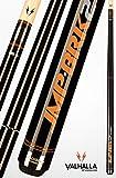 Viking Valhalla VA-JMPBRK2 Jump Break Cue Michigan Maple Forearm/Sleeve, Stainless Steel Butt