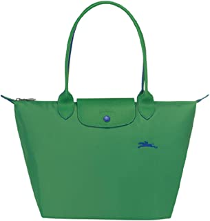 Le Pliage Club Large Shoulder Tote (Green)