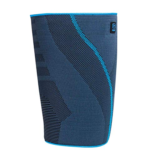 Prim Hamstring Compression Sleeve, Quad and Thigh Support, Medical Grade Upper Leg Sleeve, Groin Support Brace for Sports or Injury Recovery, Medium