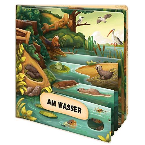 Trötsch Fensterbuch Am Wasser: Entdeckerbuch Beschäftigungsbuch Spielbuch (Erstes Wissen)
