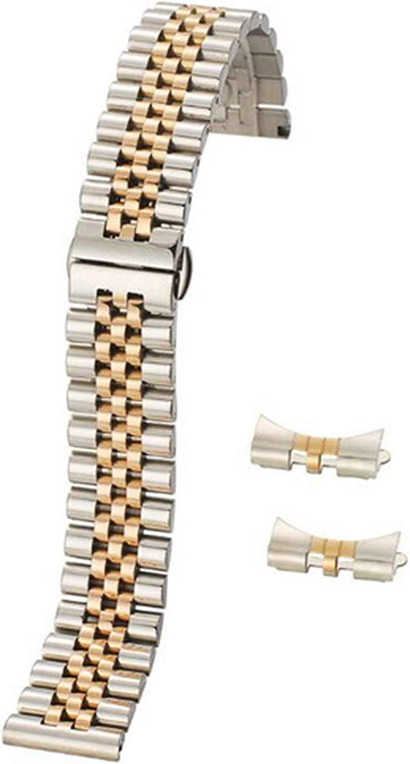 LXHY Watch Accessories 12-22mm Universal Solid Max 51% OFF Direct store Steel Stainless F