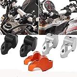XXEtrade: palanca de manillar para motocicleta elevada, extensible de 30 mm, parte trasera de 20 mm, kit de soporte elevador