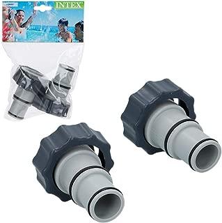 Intex Pack 2 adaptadores 'A' para Tubos de 32 mm a 38 mm