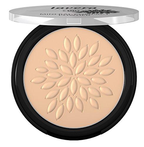 lavera Mineral Compact Powder ∙ Farbe Ivory 01 ∙ Perfect Matte Finish ∙ Vegan ✔ Natural & Innovative Make Up ✔ Organic Skin Care ✔ Color Cosmetics ✔ BIO 7 g