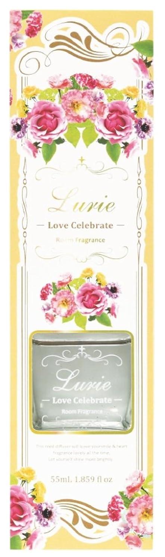 仲介者上院処方するノルコーポレーション リードディフューザー ルーリィ ホワイトムスクの香り ラブセレブレイト 55ml OA-LRF-1-4