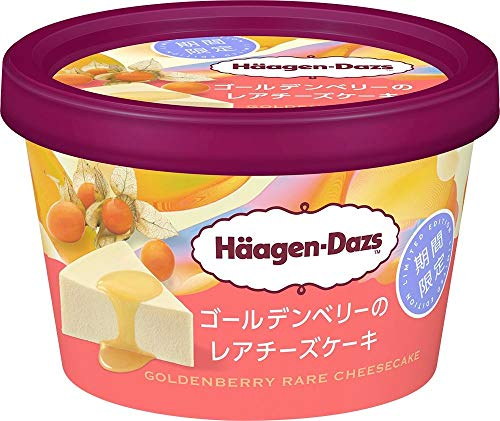 ハーゲンダッツ ゴールデンベリーのレアチーズケーキ99ml×6個