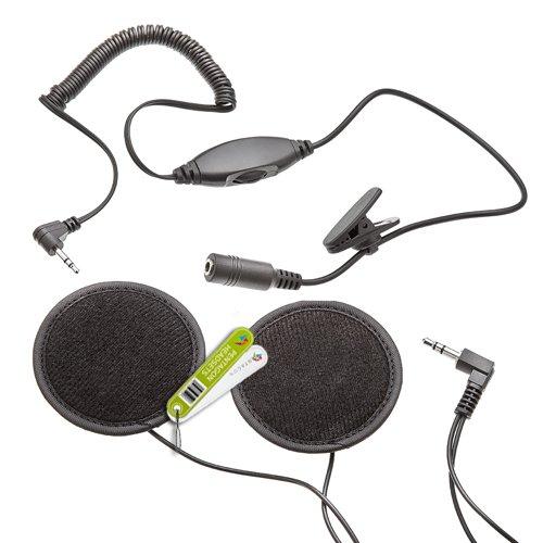 Motorradhelm Ohrhörer für Intek Funkgerät - Ohne Mikrofon
