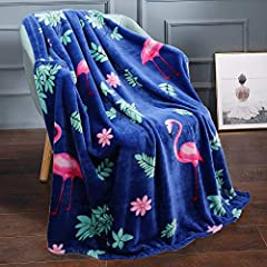 Durable: The flannel throw blanket doesn't shed or shrink, it can remain fresh as new after being washed many times without fading. Sturdy stitches and excellent workmanship make the throw blanket last long. Lightweight: The blanket throw throw is 50...