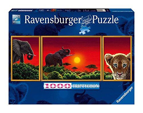 19991   Puzzle panorámico de 1000 Piezas: Sabana Africana